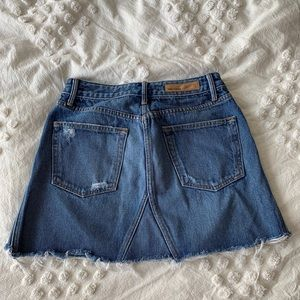 GRLFRND Skirts - GRLFRND Eva denim skirt